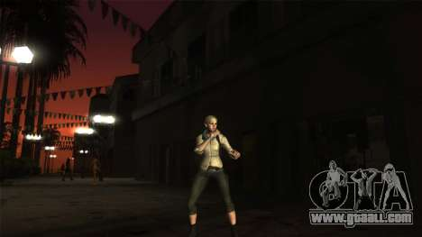 Resident Evil 6 - Shery Asia Outfit for GTA San Andreas second screenshot