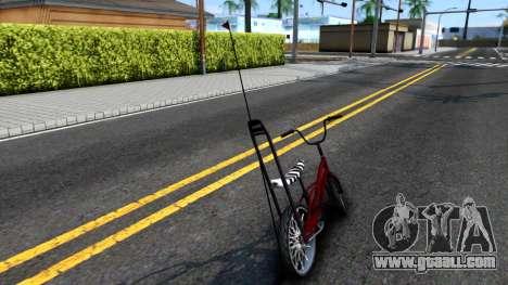 GTA SA Bike Enhance for GTA San Andreas back left view