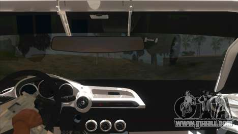 Mazda MX-5 2016 for GTA San Andreas inner view