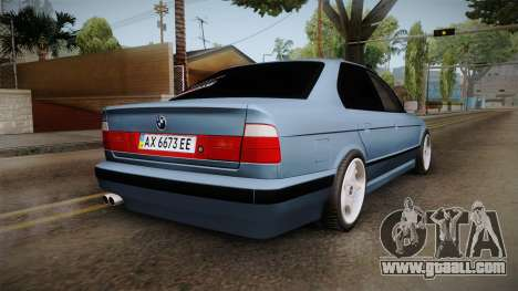 BMW 5 Series E34 ЕК for GTA San Andreas left view