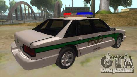 1992 Declasse Premier Angel Pine PD for GTA San Andreas right view