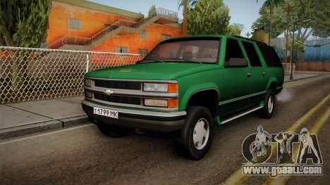 Chevrolet Suburban GMT400 1998 for GTA San Andreas