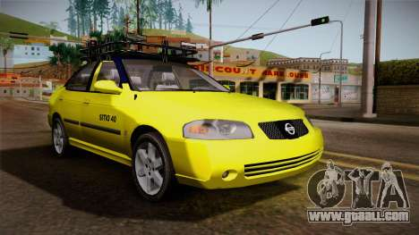 Nissan Sentra Taxi for GTA San Andreas right view