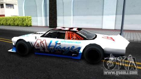 Drift Tampa for GTA San Andreas back left view