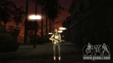 Resident Evil 6 - Shery Asia Outfit for GTA San Andreas third screenshot