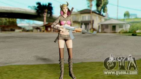 Resident Evil Revelations 2 - Moira Burton Ninja for GTA San Andreas