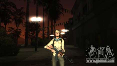 Resident Evil 6 - Shery Asia Outfit for GTA San Andreas forth screenshot