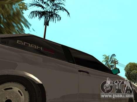 VAZ 2108 BPAN for GTA San Andreas back view