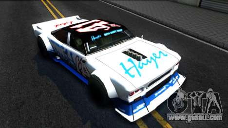 Drift Tampa for GTA San Andreas back view