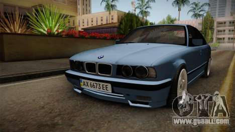 BMW 5 Series E34 ЕК for GTA San Andreas right view