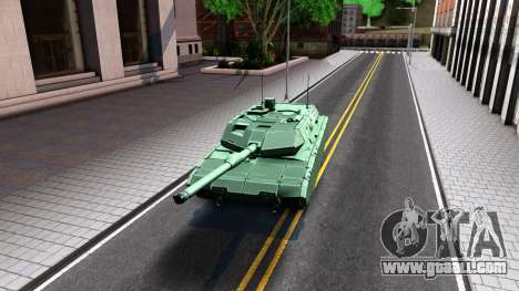 Leopard 2A7 for GTA San Andreas left view