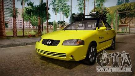 Nissan Sentra Taxi for GTA San Andreas
