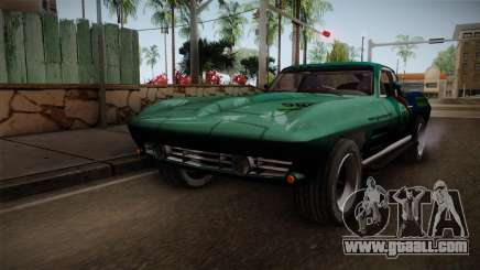 Chevrolet Corvette Coupe 1964 for GTA San Andreas