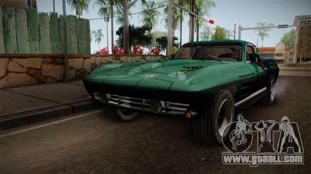 Chevrolet Corvette Coupe 1964 for GTA San Andreas
