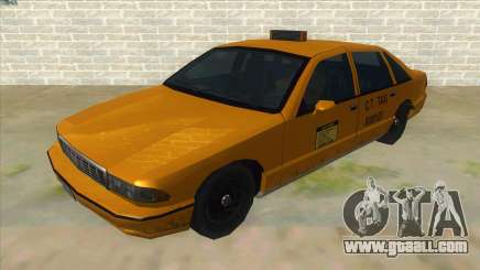 New Taxi for GTA San Andreas