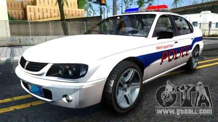 Declasse Merit Metropolitan Police 2005 for GTA San Andreas