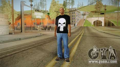 Skull t-shirt for GTA San Andreas third screenshot