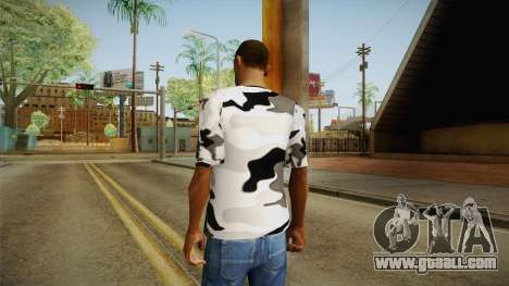 Winter camo for GTA San Andreas