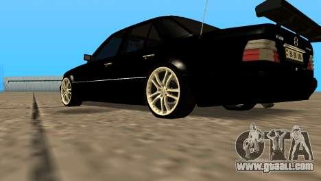 Mersedes-Benz E500 W124 Armenia for GTA San Andreas right view