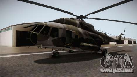 Mi-8 for GTA San Andreas right view