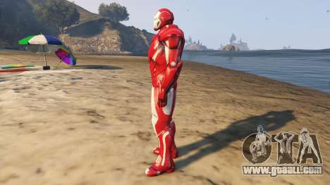 GTA 5 Iron Man Silver Centurion