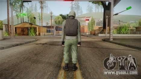GTA Online Military Skin Green-Verde for GTA San Andreas third screenshot