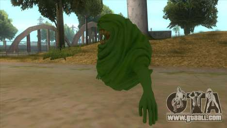 Slimer From Ghostbusters for GTA San Andreas left view