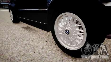 BMW 535i E34 ShadowLine v.3.0 for GTA 4 back view