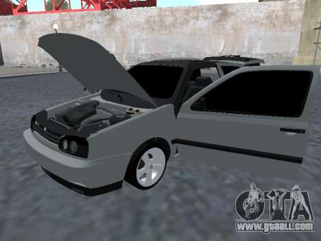 Volkswagen Golf 3 Armenian for GTA San Andreas back view