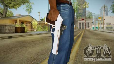 Desert Eagle with a new livery for GTA San Andreas third screenshot