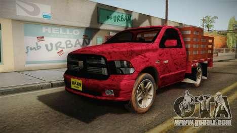 Dodge Ram 1500 for GTA San Andreas