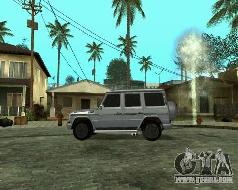 Mercedes Benz G500 Armenian for GTA San Andreas left view