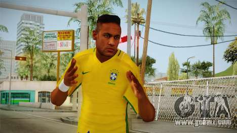 PES2016 - Neymar for GTA San Andreas