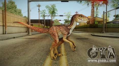 Primal Carnage Velociraptor Alpha for GTA San Andreas second screenshot
