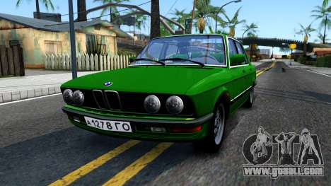 BMW 535i E28 for GTA San Andreas
