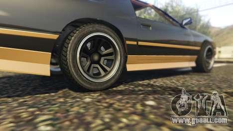 GTA 5 Ruiner FD Spec rear right side view