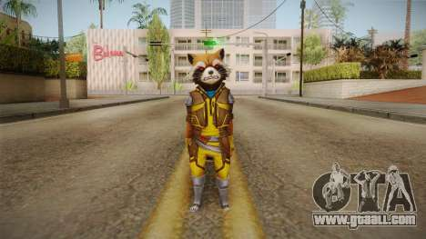 Marvel Future Fight - Rocket Raccon (ANAD) for GTA San Andreas