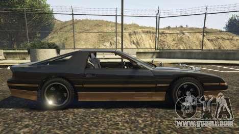 GTA 5 Ruiner FD Spec left side view