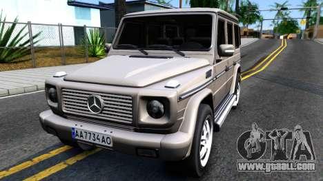 Mercedes-Benz G500 v2.0 for GTA San Andreas