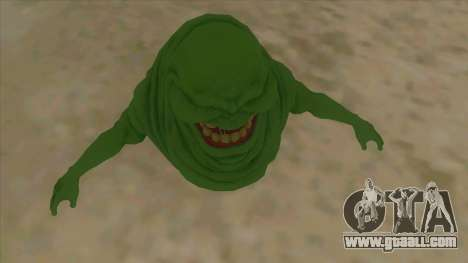 Slimer From Ghostbusters for GTA San Andreas inner view