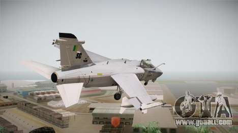 EMB Embraer A-1 AMX FAB for GTA San Andreas left view