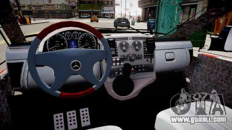 Mercedes-Benz Vito 115 CDI Dutch Police for GTA 4 inner view