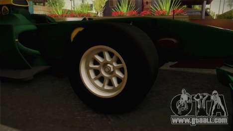 F1 Lotus T125 2011 v4 for GTA San Andreas