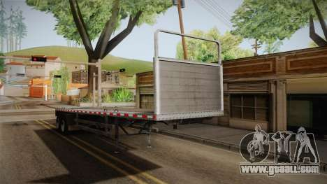 GTA 5 Log Trailer v1 IVF for GTA San Andreas right view