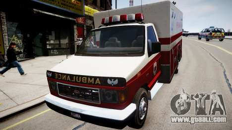 Vapid Steed Ambulance for GTA 4