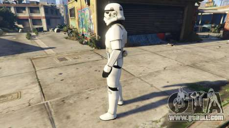 GTA 5 Stormtrooper 0.1 second screenshot
