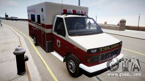 Vapid Steed Ambulance for GTA 4 right view