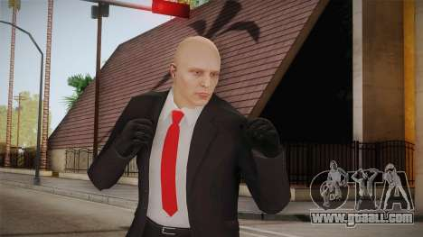 Hitman Agent 47 for GTA San Andreas