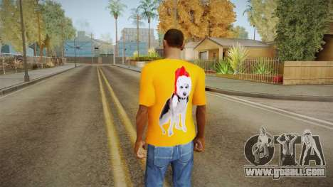 Festive t-shirt for GTA San Andreas