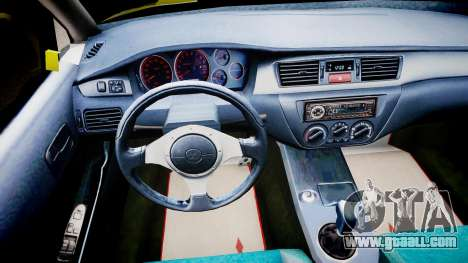 Mitsubishi Evo IX Fast and Furious 2 V1.0 for GTA 4
